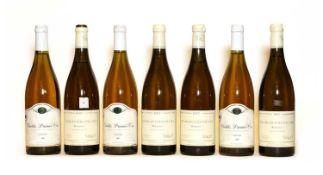 Assorted Chablis: Domaine Besson, 2002, three bottles and Bougros, Verget, 1997, four bottles