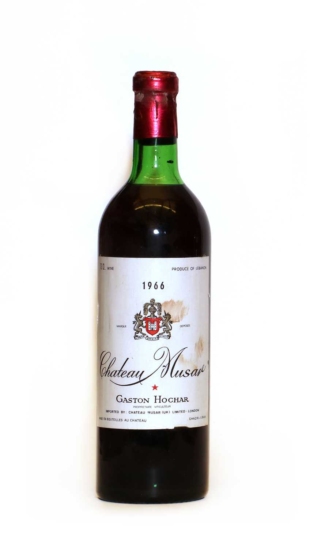 Chateau Musar, Gaston Hochar, Bekaa Valley, 1977, one bottle