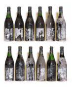 Charmes Chambertin, 1966, Berry Bros & Rudd bottling, twelve bottles