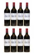 Chateau d'Angludet, Margaux, Cru Bourgeois, 2003, 2006 and 2007, eight bottles in total