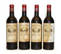 Chateau Siran, Margaux, Cru Bourgeois, 1979, four bottles