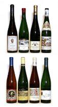 Riesling Spatlese, Forster Jesuitengarten, Reichsrat von Buhl, 2002, one bottle and 7 various