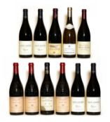 Assorted Rhone: Chateauneuf du Pape, Domaine de Marcoux, 2009, three bottles and nine various