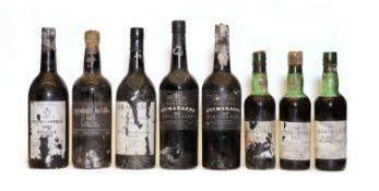Assorted Vintage Port: Grahams, Vintage Port, 1985, one bottle and seven variously sized others