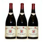 Chateauneuf du Pape, Clos des Papes, Paul Avril, 2003, three magnums