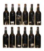 Vintage Port, Peatling & Cawdron bottling, twelve bottles