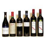 Assorted Australian: Penfolds, RWT, Shiraz, Barossa Valley, 2000, one bottle and five various