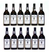 Warres, Vintage Port, 1985, twelve bottles