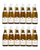 Puligny Montrachet, 1er Cru, Les Champs Gains, Domaine Potinet Ampeau, 2007, twelve bottles (boxed)