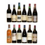 Miscellaneous wines: Mas de Daumas Gassac, Herault, 1983, one bottle and eleven various others