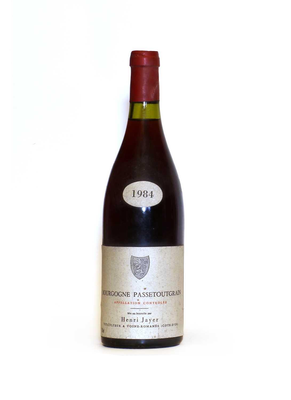 Bourgogne Passetoutgrain, Henri Jayer, 1984, one bottle