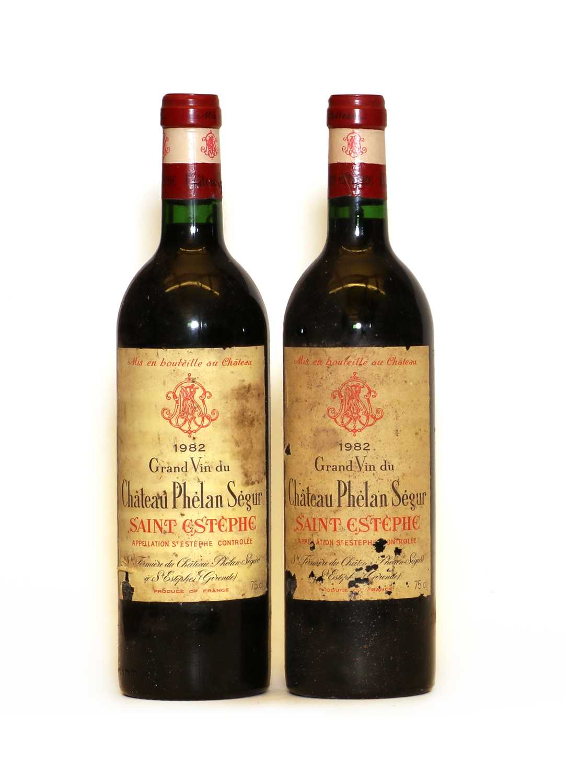 Chateau Phelan Segur, Saint Estephe, Cru Bourgeois, 1982, two bottles