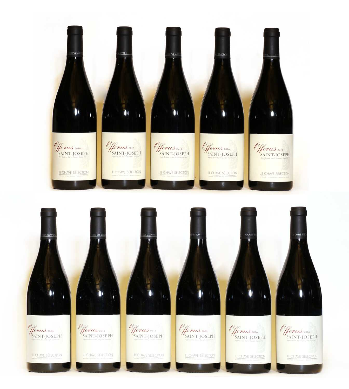 Saint Joseph, Offerus, Jean Louis Chave, 2016, eleven bottles (boxed)