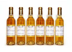 Clos Haut-Peyraguey, 1er Cru Classe, Sauternes, 2005, six half bottles