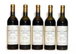 Chateau Kirwan, 3eme Cru Classe, Margaux, 1978, five bottles