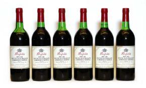 Penfolds, Bin 389, Cabernet Shiraz, 1982, six bottles