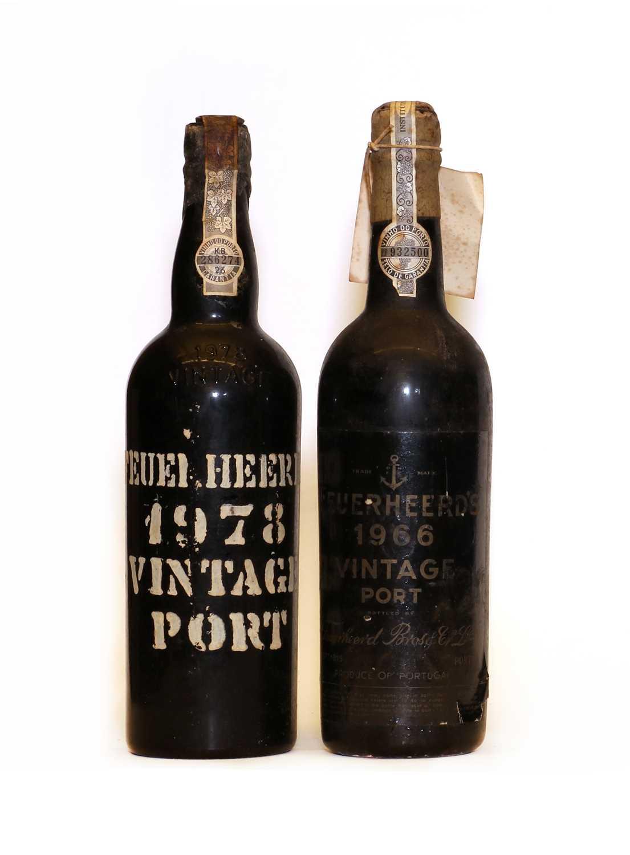 Feuerheerd, Vintage Port, 1966, one bottle and 1978, one bottle