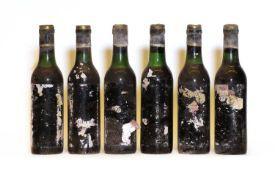 Chateau Feytit Clinet, Pomerol, 1970, six half bottles