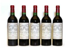 Chateau La Lagune, 3eme Cru Classe, Haut Medoc, 1983, five bottles