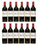Chateau d'Angludet, Margaux, Cru Bourgeois, 2008, twelve bottles