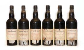 Churchills, Crusted Port, 1988, six bottles
