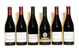 Assorted Beaujolais: Morgon, Grand Cras, Joseph Burrier, 2010, two bottles and four various others