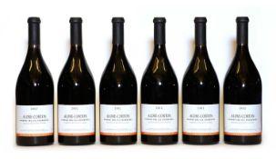 Aloxe-Corton, 1er Cru, Fournieres, Domaine Tollot Beaut, 2002, six bottles (boxed)