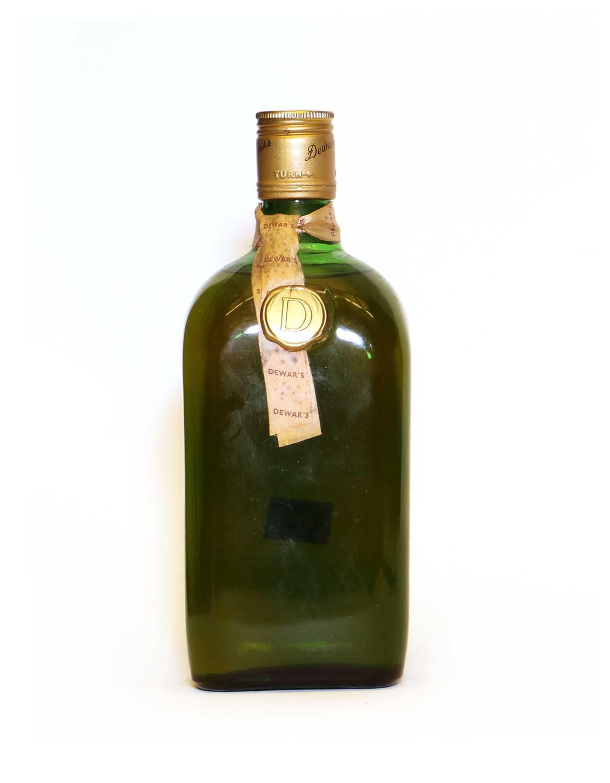 Dewars, Scotch Whisky, label missing, probably 1960s bottling, one bottle