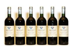 Brunesco di San Lorenzo, Giovanni Cappelli, Toscana, 1990, six bottles