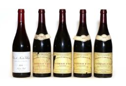 Assorted Burgundy: Santenay, Domaine Christian Roy, 2004, four bottles and one various other