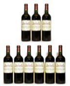 Chateau Beaumont, Haut Medoc, Cru Bourgeois, 2009, nine bottles