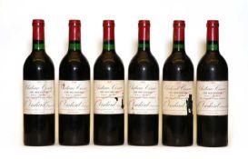 Chateau Cissac, Haut Medoc, Cru Bourgeois, 1989, six bottles