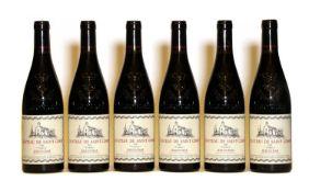 Gigondas, Valbelle, Chateau Saint Cosme, 2006, six bottles (boxed)