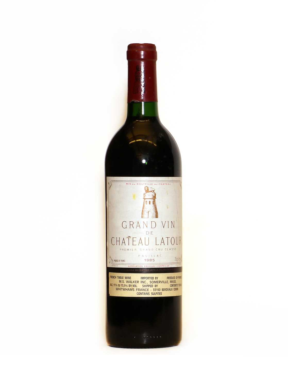 Chateau Latour, 1er Cru Classe, Pauillac, 1985, one bottle