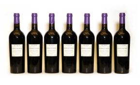 Le Defi de Fontenil, Fronsac, Michel Rolland, Lot 00 (2000), seven bottles