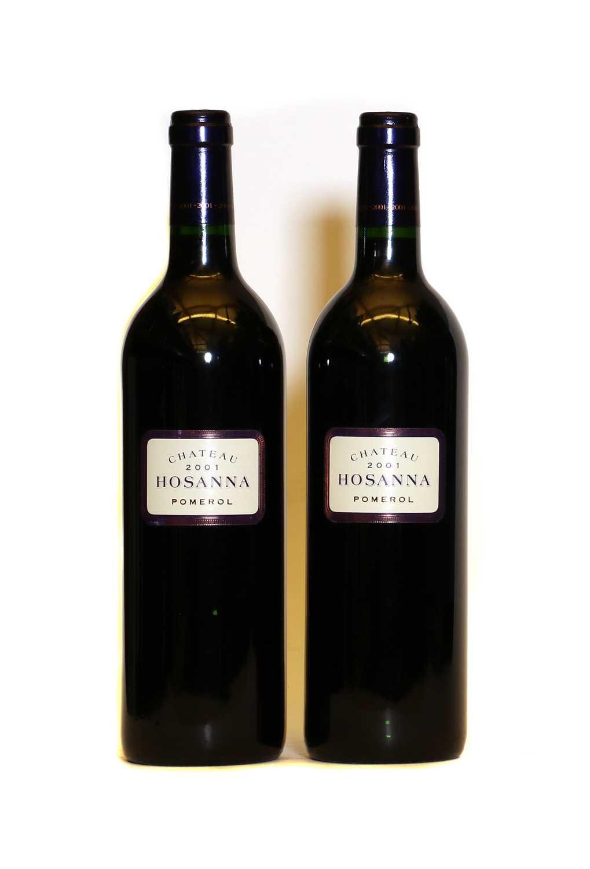 Chateau Hosanna, Pomerol, 2001, two bottles