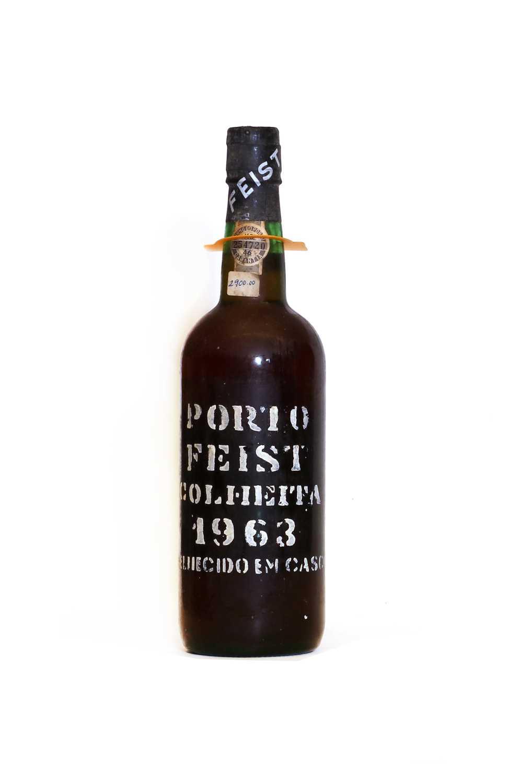 Feist, Colheita Port, 1963, one bottle