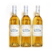 Pavillon Blanc du Chateau Margaux, Margaux, 1995, 1 bottle and 1997, 2 bottles, 3 bottles in total