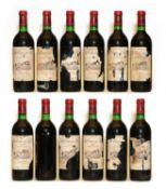 Chateau La Tour de By, Medoc, Cru Bourgeois, 1983, twelve bottles