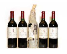 Chateau Latour, 1er Cru Classe, Pauillac, 1987, five bottles