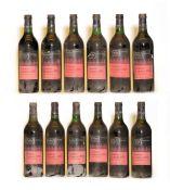 Chateau Guionne, Cotes de Bourg, 1970, twelve bottles