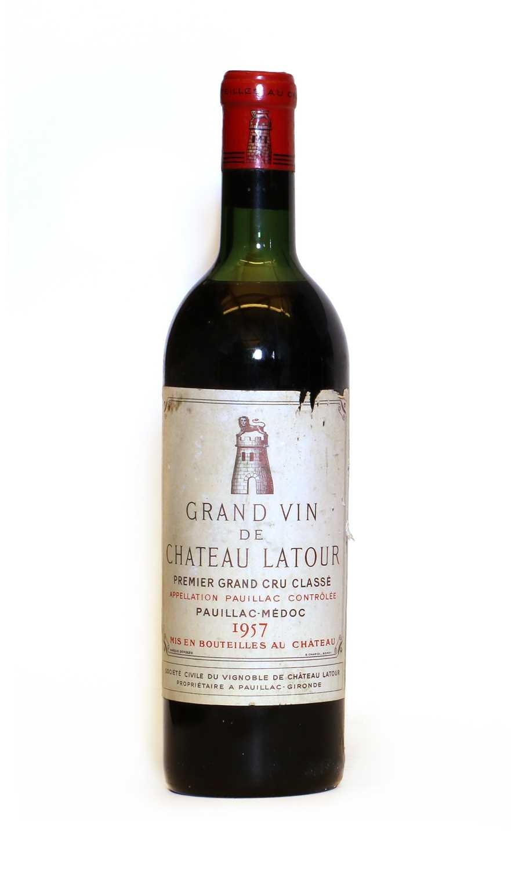 Chateau Latour, 1er Cru Classe, Pauillac, 1957, one bottle