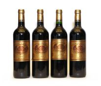 Chateau Batailley,2003, one bottle and 2006, three bottles, four bottles in total