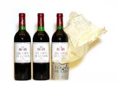 Les Forts de Latour, Pauillac, 1978, three bottles