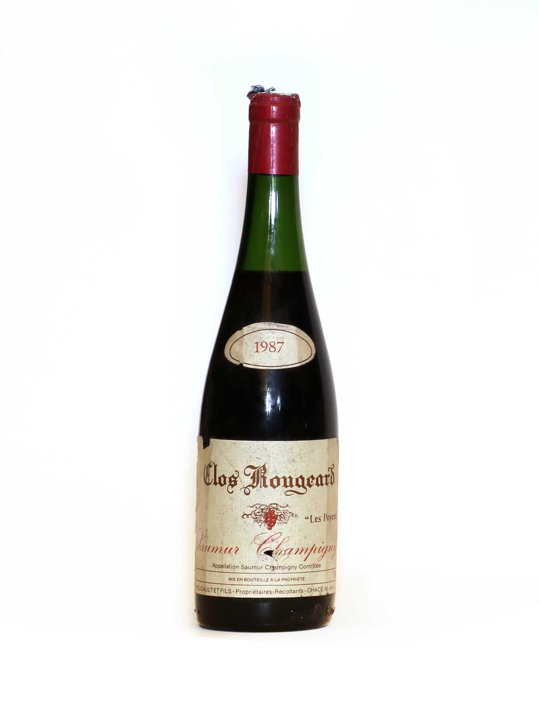 Saumur Champigny, Les Poyeux, Clos Rougeard, 1987, one bottle