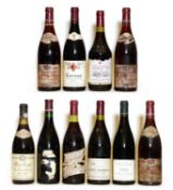 Assorted Rhone: Cornas, Domaine Auguste Clape, 1996, one bottle and nine various others