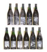 Charmes Chambertin, 1966, Berry Bros & Rudd bottling, eleven bottles