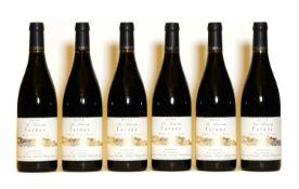 Cornas, La Sabarotte, Domaine Courbis, 2006, six bottles (boxed)