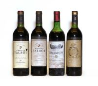Assorted Saint Julien: Chateau Gruaud Larose, St Julien, 1983, one bottle and three various others