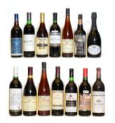 Assorted New World: Penfolds, The Magill Estate, Shiraz, 1985, one bottle and 13 various others